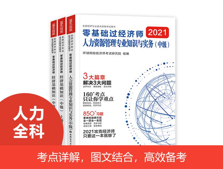 2021零基础过经济师-人力全科
